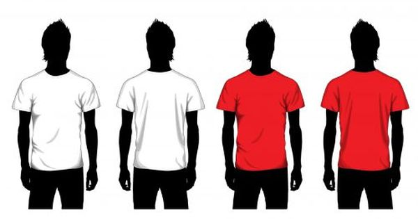 Blank Tshirt Template For Students Graphic Design Art