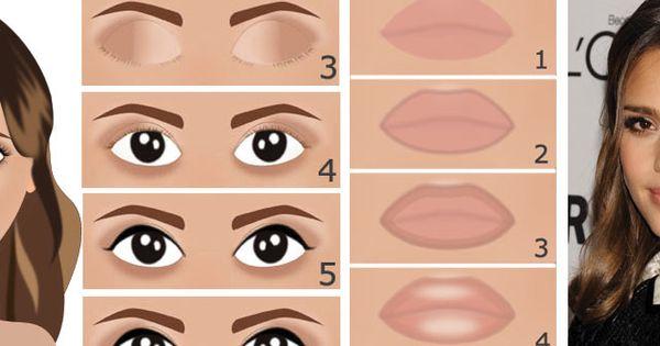 Comment se maquiller comme jessica alba maquillage naturel et glamour pour yeux marron en - Meuble pour se maquiller ...