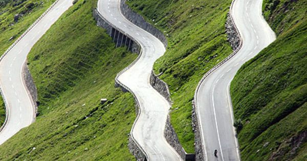Furka Pass, Switzerland. I want to DRIVE an Audi on this road.