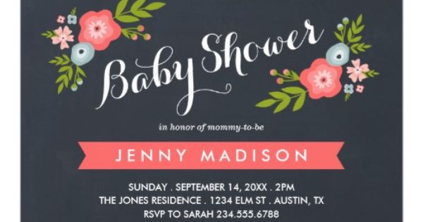 Floral Invitations with awesome invitations layout