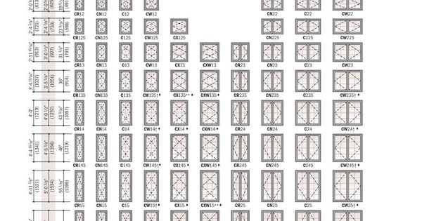 Anderson Casement Window Sizes Andersen Windows Andersen