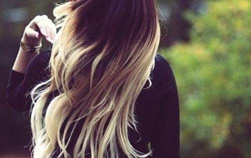 Dark Brown To Platinum Blonde Ombre Hair Pinterest