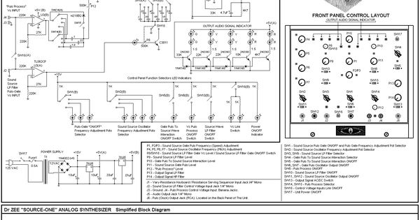 passive modular synth circuit schematics