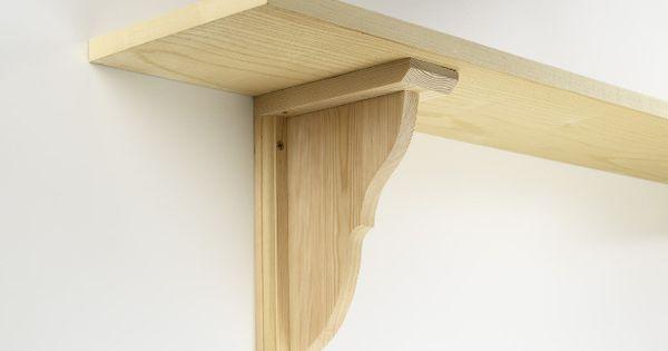 wooden bracket  Home ideas  Pinterest  Models, Shelves and Wooden ...