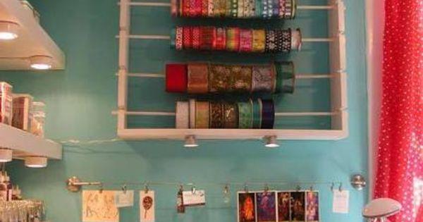 Creative and Inspiring Craft Room (Megan of Crafty Intentions): | Craft Storage