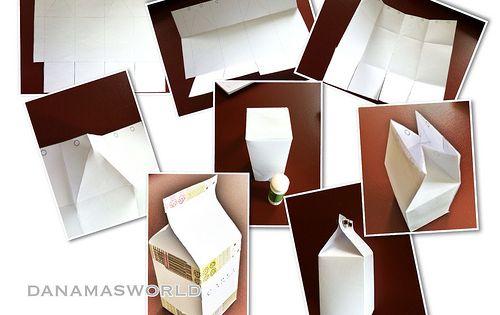 milcht ten f r den kaufladen basteln mit papier paper crafts pinterest tutorials felt. Black Bedroom Furniture Sets. Home Design Ideas