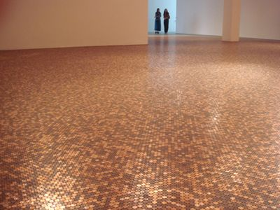 The Abolition Of Work 2007 Penny Tile Penny Floor Flooring