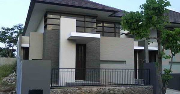 Minimalist Architecture Tropic Home Design In Indonesia