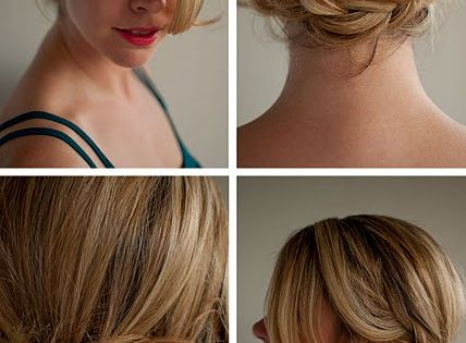A nice wedding hair style leanne x
