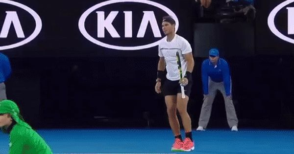 New Party Member Tags Tennis Serious Rafael Nadal Zoom Nadal Australian Open Australian Open 2017 Aussie O Australian Open Australian Open 2017 Tennis Videos