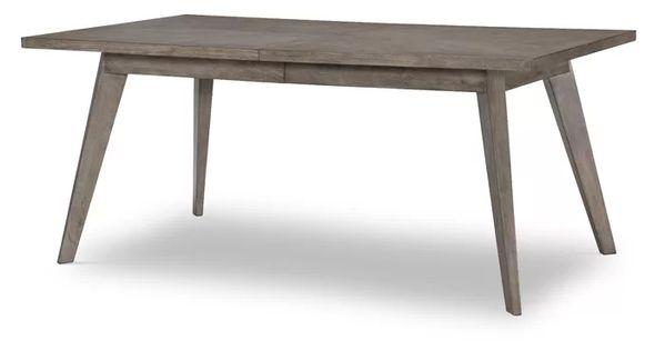 Foundry Select Iliana Extendable Rubberwood Solid Wood Dining Table Wayfair Wood Dining Table Solid Wood Dining Set Solid Wood Dining Table
