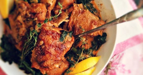 Braised chicken, Kale and White wines on Pinterest