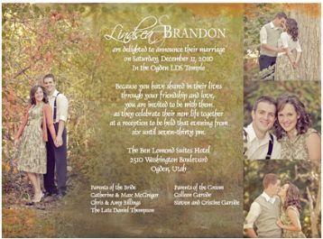 Lds Wedding Invitation Wording Lds Wedding Planner Lds Wedding Invitations Wedding Reception Invitations Wedding Announcements Wording