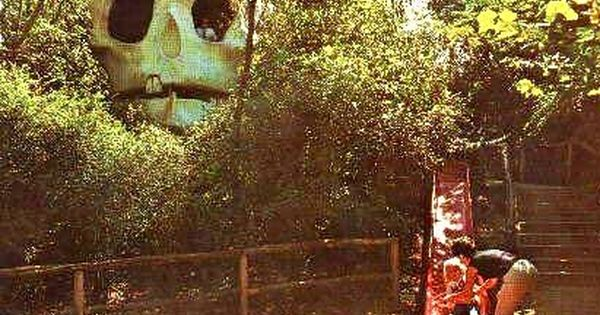 Skull Island Six Flags Over Texas Arlington Texas 1970s It Was One Of Many Attractions During That Time There Six Flags Six Flags Over Texas Skull Island