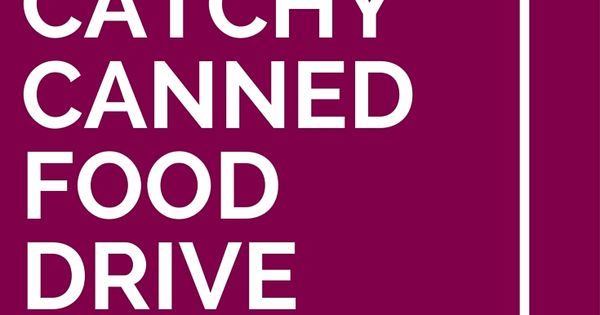 37 Catchy Canned Food Drive Slogans