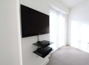 Tv Wall Bracket With Shelf For Sky Box Wall Mount Tv Shelf Wall