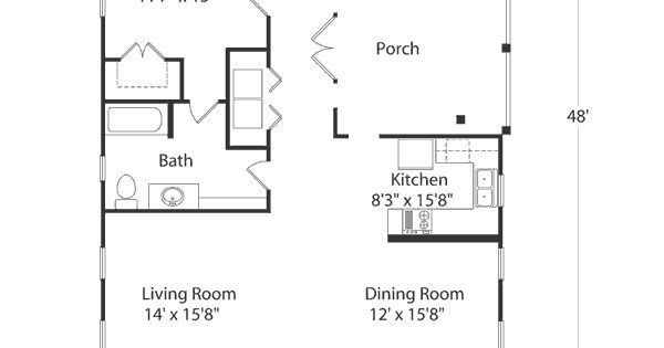 Inlet cottage plan sl 1519 this would be a sweet vacation for Inlet retreat house plan
