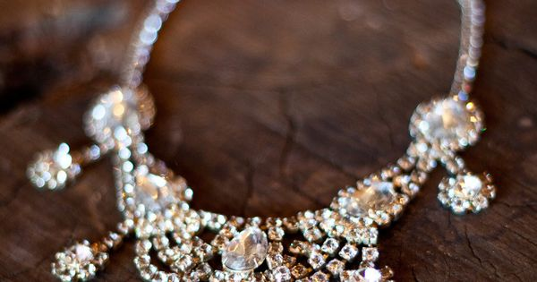 the glamiest of glam necklaces Photography By joannawilsonphoto...