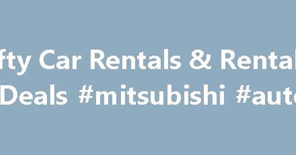 Thrifty Car Rentals \ Rental Car Deals #mitsubishi #auto #parts - auto rental and lease form