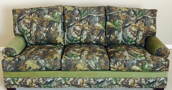 #New Realtree Camo Sofa #Realtreecamo