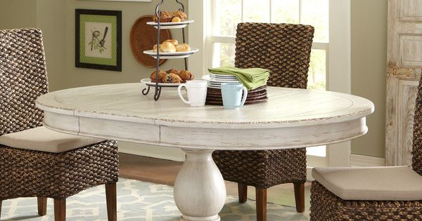 Birch lane clearbrook round dining table beach house kitchen pinterest round dining table - Birch kitchen table ...