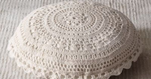 Crocheted Floor Pillow Floor Pillows Restoration Hardware Baby & Child Woo! They DO offer it ...