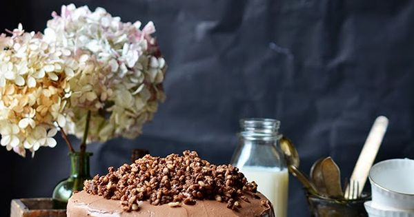 ... hazelnut crunch | Special Cakes | Pinterest | Devil Food Cakes, Devils
