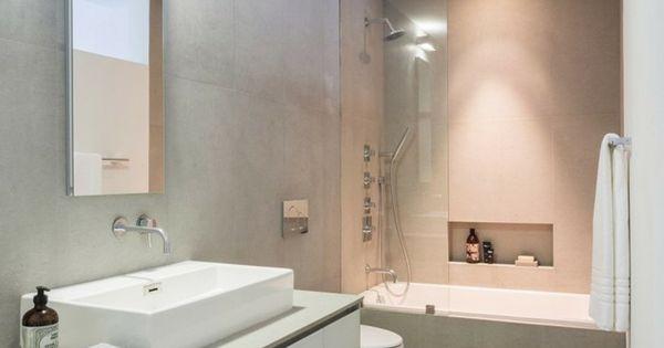 Suelo de madera en el ba o moderno ideas para el hogar - Suelos de bano ...