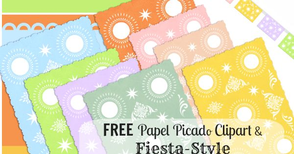 free papel picado clip art from latinaish com