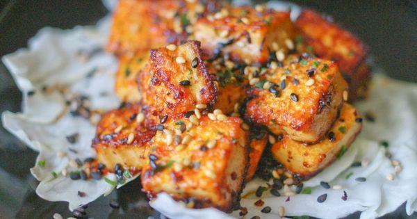 Spicy lemongrass tofu {recipe}