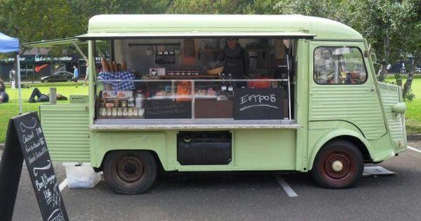 L Epicerie New Zealand Citroen Hy Food Truck Street