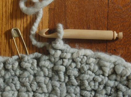 Finally, an actual pattern for the big floor rugs! Big Stitch Crocheted