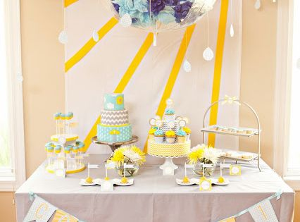 You are my sunshine party ideas... Decor Advice by the Slice: I