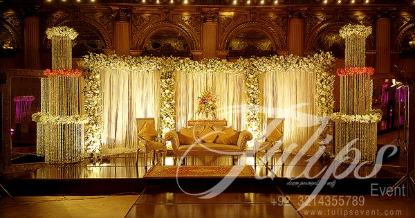 1000 Ideas About Gold Weddings On Pinterest: Best Pakistani Wedding Stages Decoration Ideas And