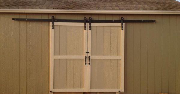 Diy barn door kits exterior barn door hardware for Exterior sliding barn door hardware