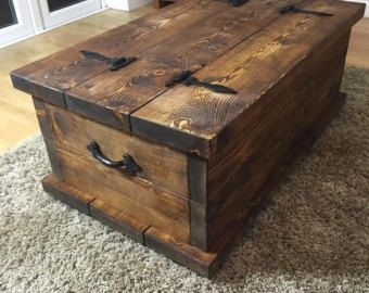 Basement Coffee Table Chest Coffee Table Rustic Trunk Coffee