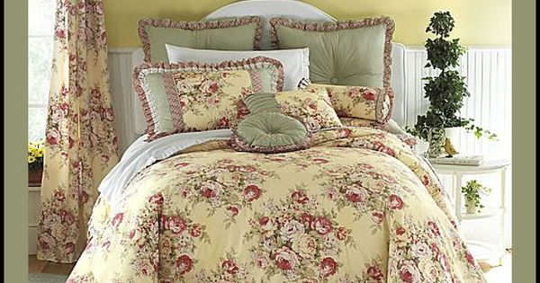 Yellow Floral Bedding Details About 11 King Buttery