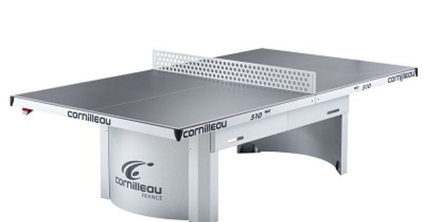 Cornilleau pro 510 outdoor ping pong table slate color for Mobilia utrechtsestraat 62 64
