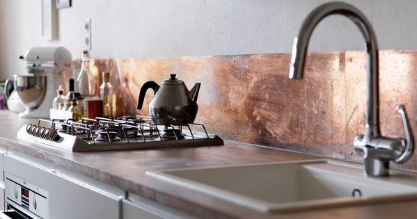 #kobber kitchen interior