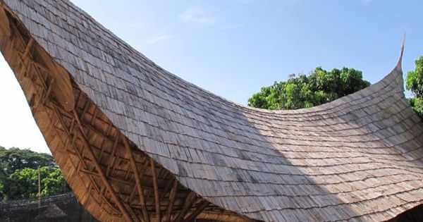 Panyaden School Lanna Sala Bamboo Architecture