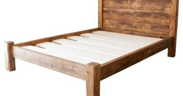Funky Chunky Furniture Wood Wooden Bed Frame Single Double King Size With Headboard And Storage Ro Simple Bed Frame Rustic Wood Bed Frame Simple Wood Bed Frame