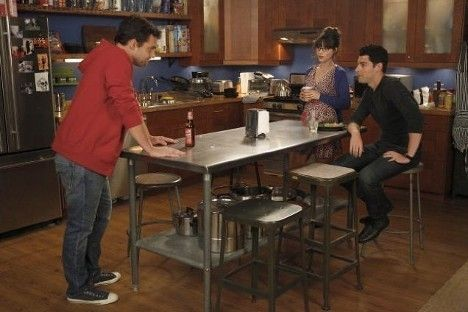 The Kitchen New Girl Girls Apartment Small Space Inspiration