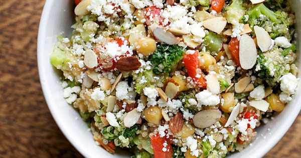 Red Pepper & Broccoli Quinoa (minus the feta) | veggie yums ...