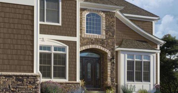 10 gorgeous house siding colors that take you beyond for Vinyl siding that looks like brick