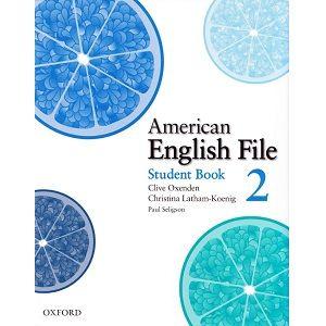 American English File 2 Student Book English File American