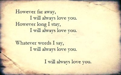 I Will Always Love You Forever Best Song Love Song Adele