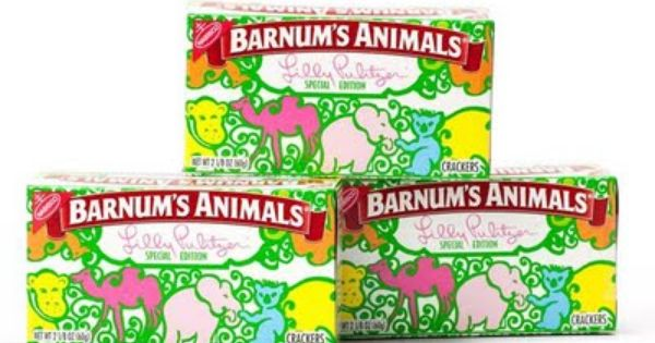 Animal Crackers 24 count - Lily Pulitzer Edition