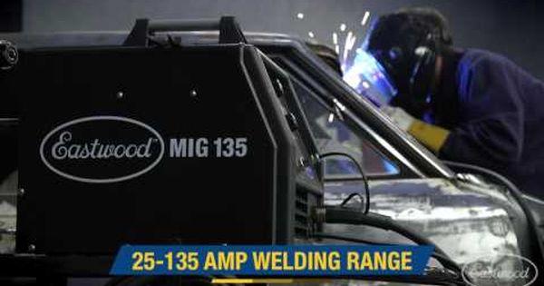 Great For Sheet Metal Mig 135 Welder Essential Eastwood Tool To Have Around The Garage Youtube Sheet Metal Welders Garage