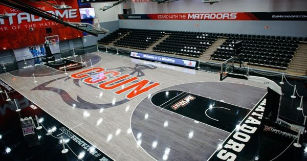 College Basketball 6 More Of The Most Interesting Court Designs College Basketball High School Basketball School Interior