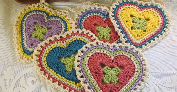Granny Sweet Heart Pattern - Crochet and other stuff